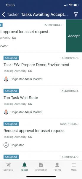 Tasker mobile screenshots