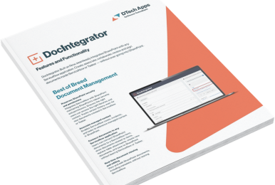 DocIntegrator Features and Functionality