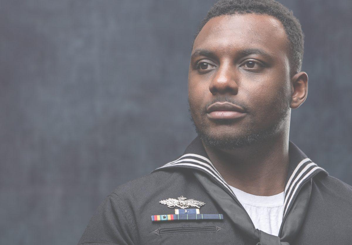 Navy sailor - homepage slider